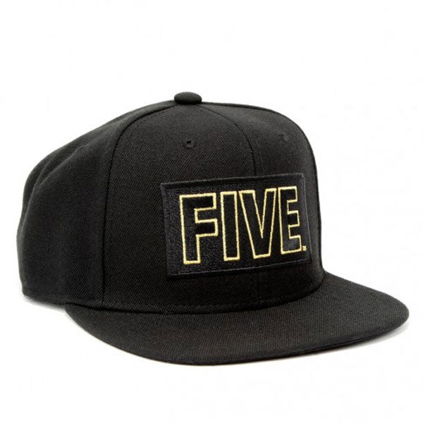 Gold Box Logo Snapback