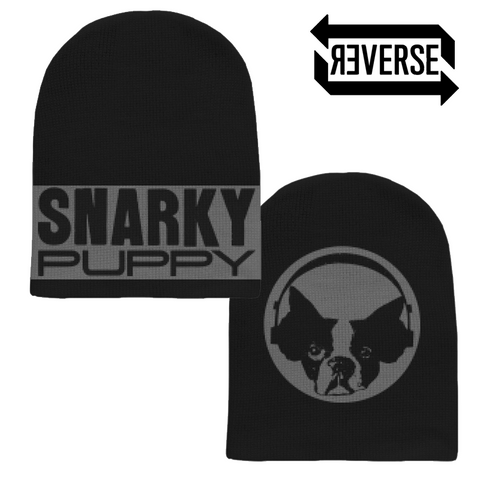Snarky Puppy Custom-Knit Reversible Beanie