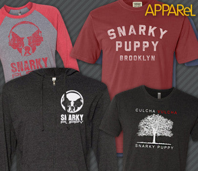 Snarky Puppy apparel