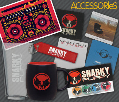 Snarky Puppy accessories and extras