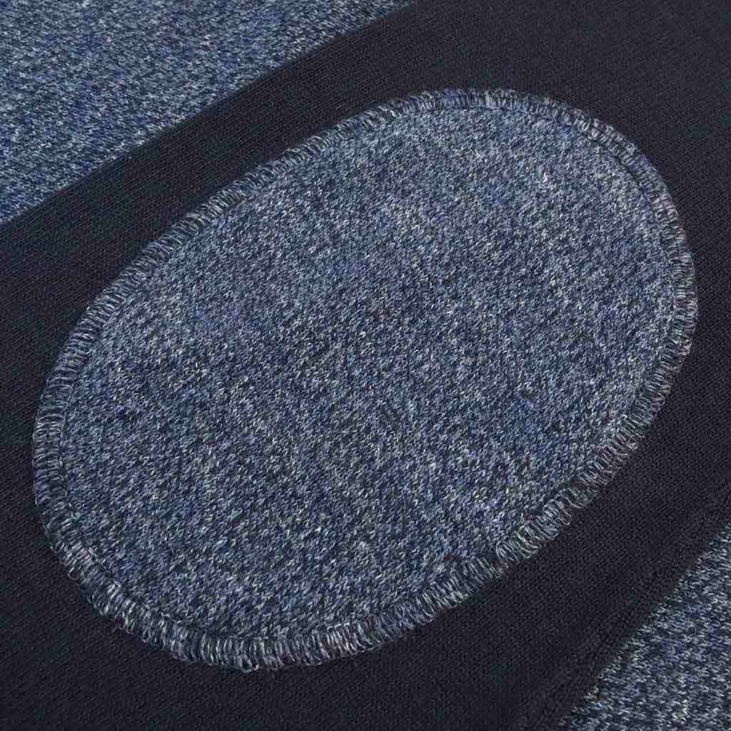 Men's Contrast Sleeve Crewneck Sweater - Close-up