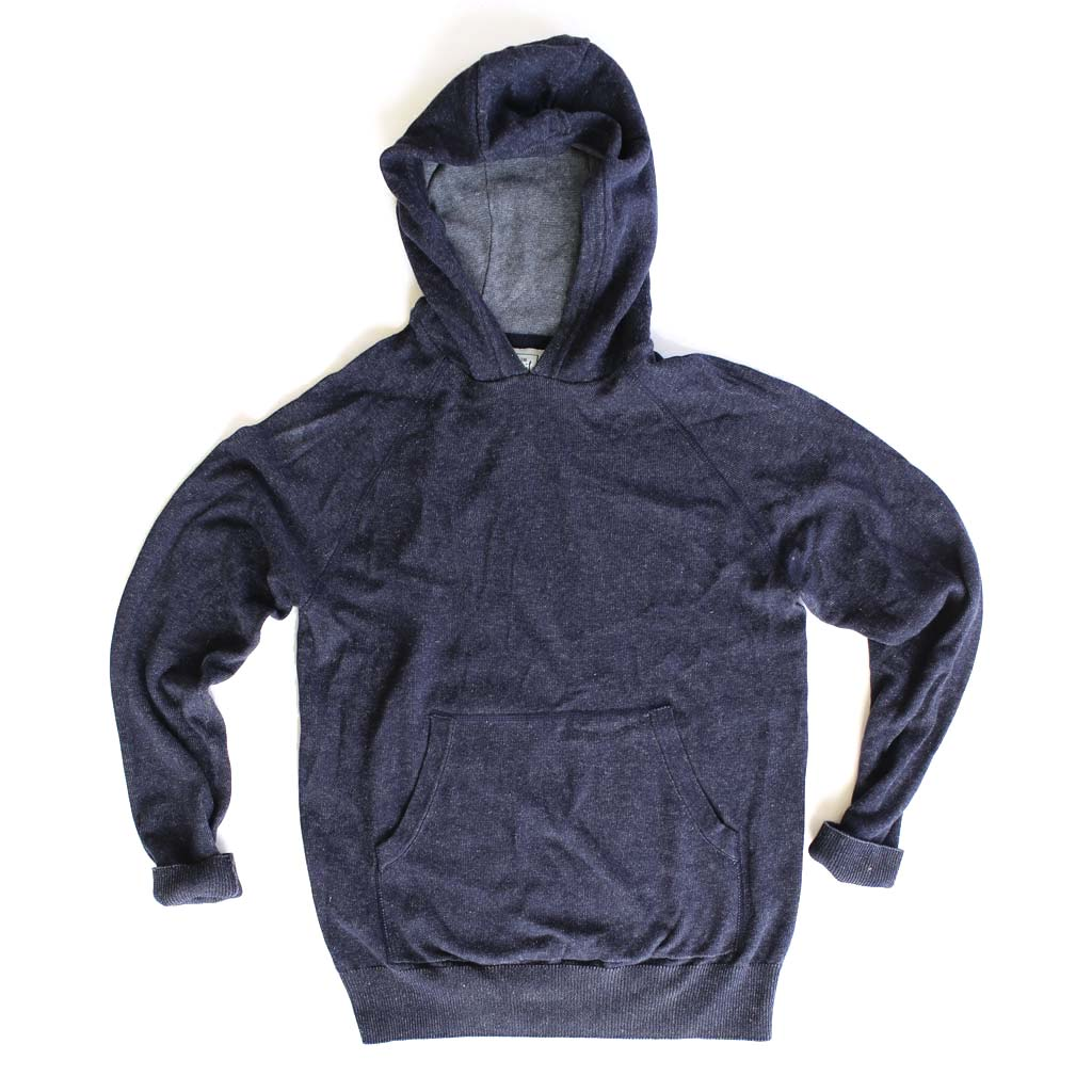Men's Plated Cotton-Blend Hoodie - Bird's Eye