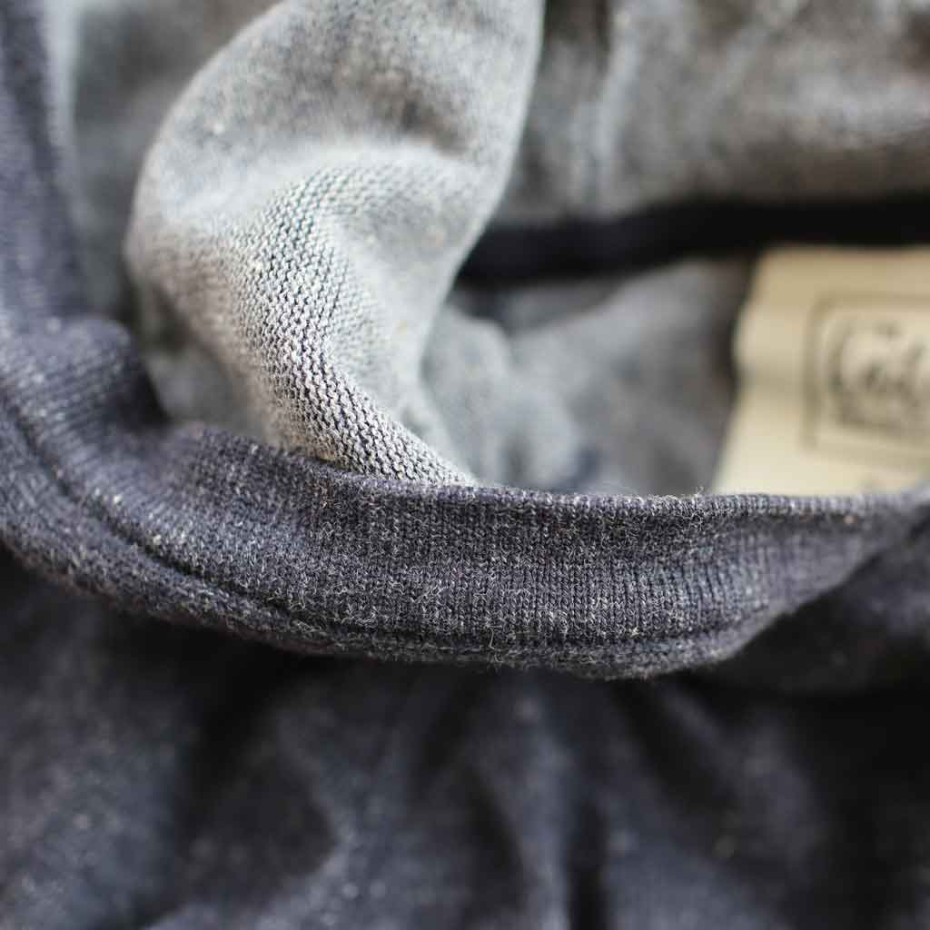 Men's Plated Cotton-Blend Hoodie - Close-up