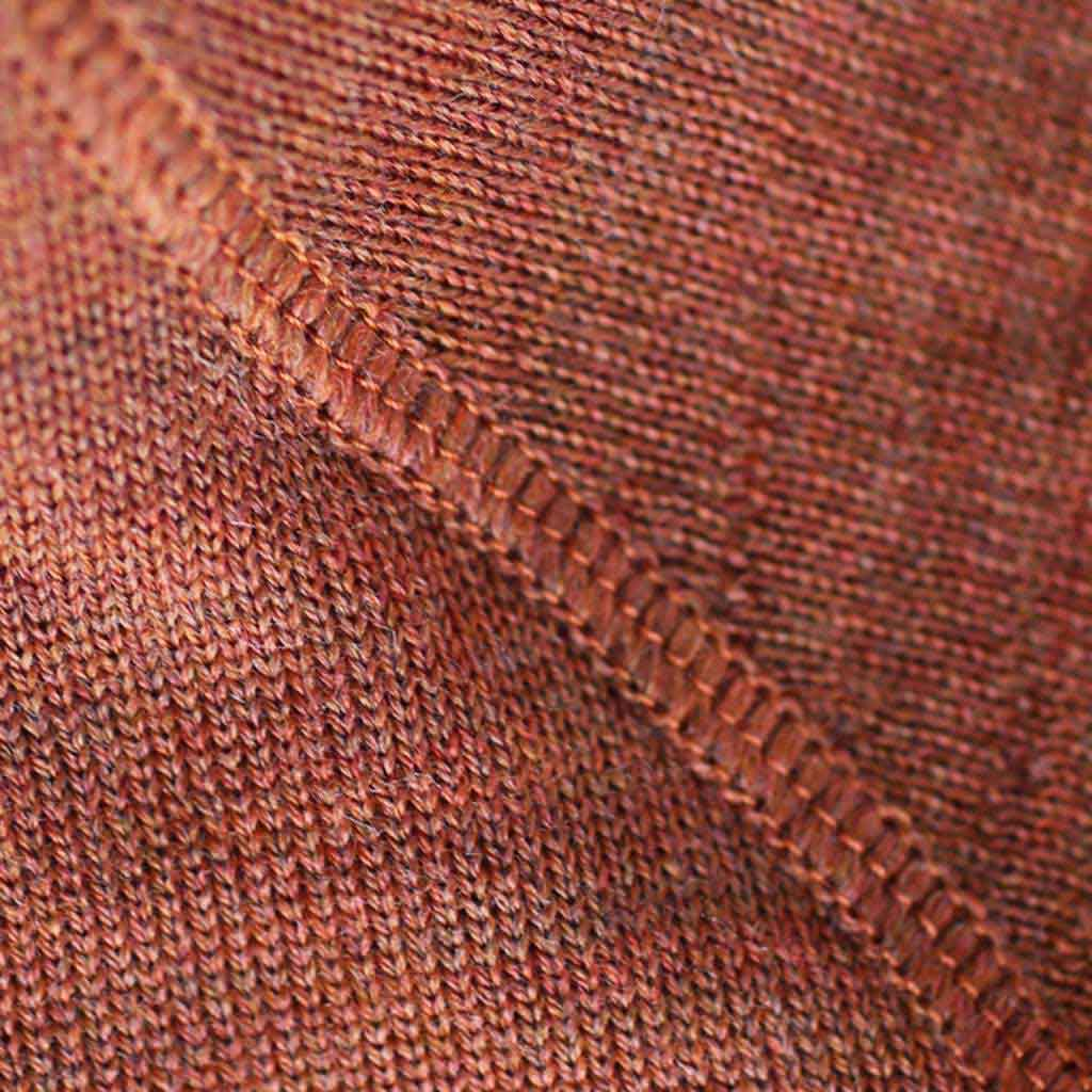 Women's Fitted Merino Turtleneck Sweater - Close-up