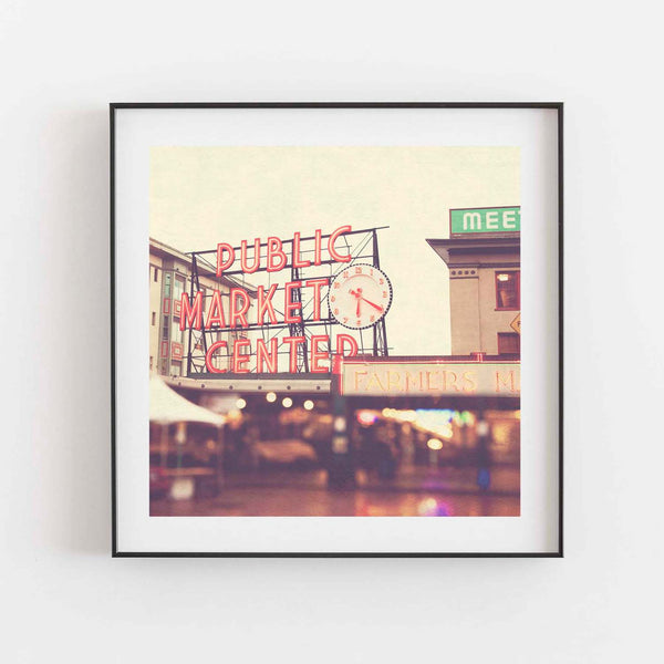 Seattle Pike Place Market print