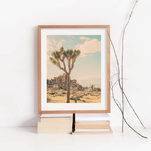 boho decor, Joshua Tree print