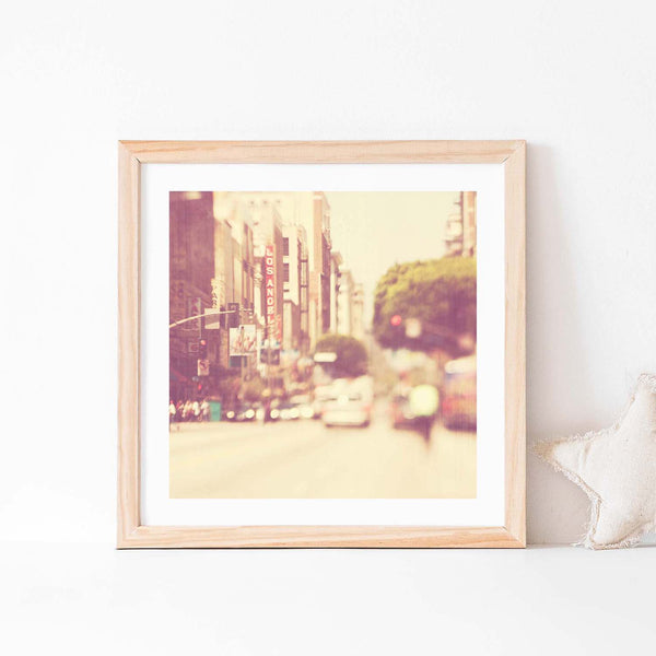 Downtown LA Nursery Art Print