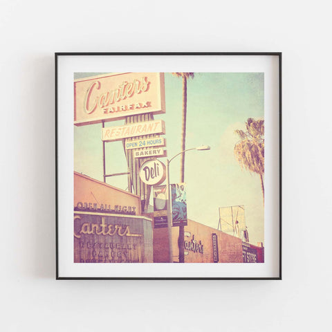 Framed Canters Deli photograph