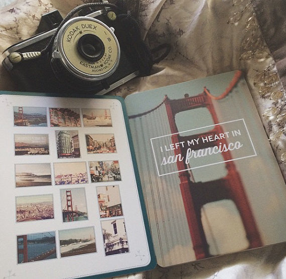 Myan Soffia San Francisco postcard book