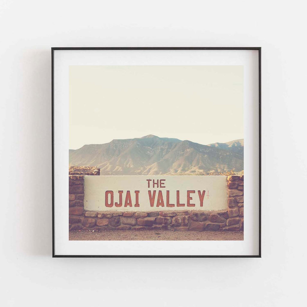 Ojai Valley photograph
