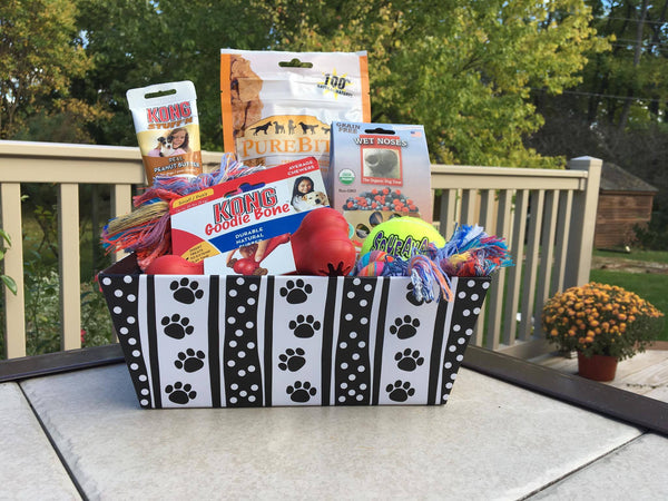 Toys & Treats Dog Gift Basket