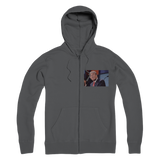 Trump Mosaic of Crying Liberals Premium Adult Zip Hoodie