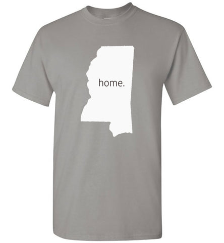 "Mississippi ""Home"" Big Logo Short Sleeve"