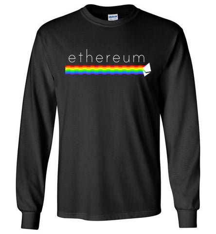 Ethereum Rainbow Long Sleeve Tee