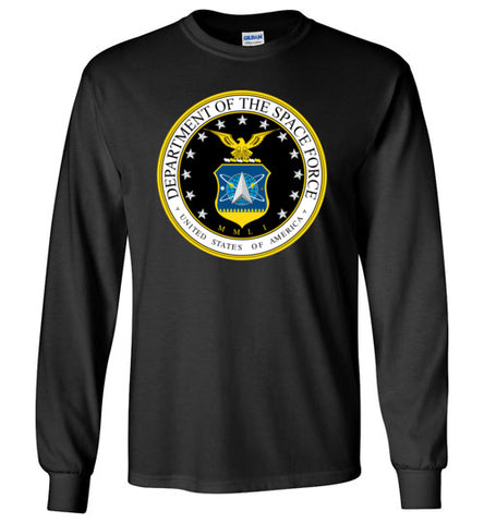 Official Space Force Long Sleeve Tee