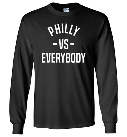 Philly Vs. Everybody Long Sleeve Tee