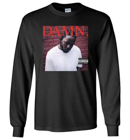 "Kendrick Lamar ""DAMN"" Album Art Long Sleeve Tee"
