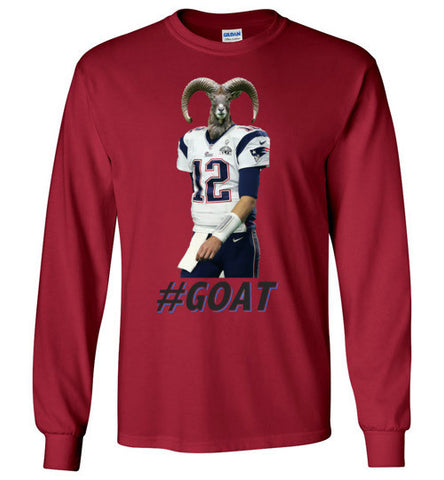#GOAT Long Sleeve tee