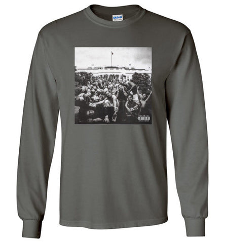 To Pimp A Butterfly Cover Art Long Sleeve Tee