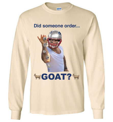 Brady the Goat Long Sleeve T-shirt