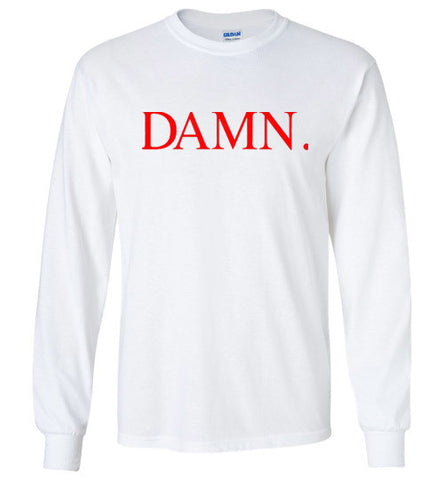 DAMN KENDRICK LAMAR INSPIRED Long Sleeve TEE