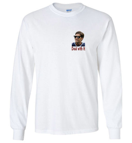 "Tom Brady ""Deal With It"" Long Sleeve Tee"
