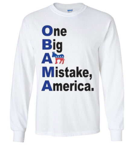 O.B.A.M.A Long Sleeve Shirt