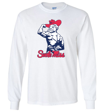 Swole Miss Colonel Rebel Inspired longsleeve tee