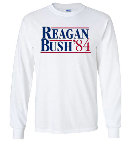 Reagan Bush Long Sleeve Tee