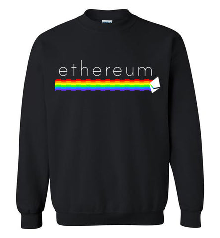 Ethereum Rainbow Sweatshirt