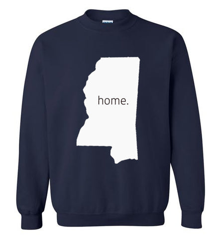 "Mississippi ""Home"" Sweatshirt"