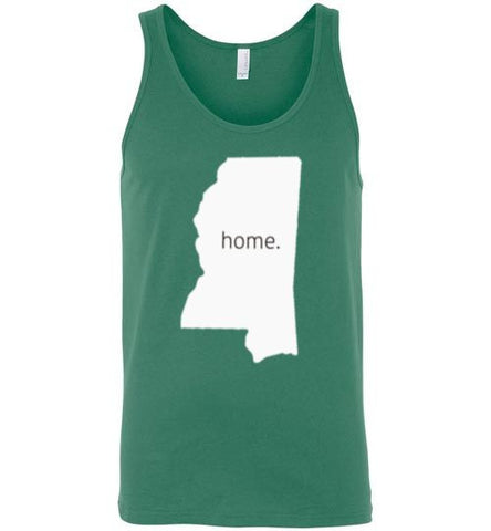 "Mississippi ""Home"" Tank Top"