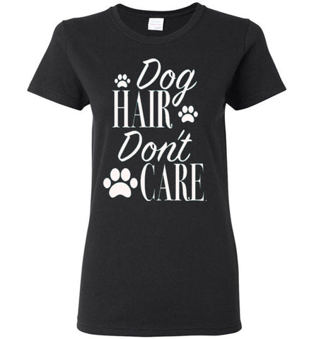 Dog Hair Don't Care Ladies Short-Sleeve