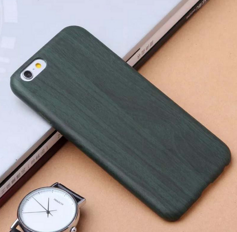 Black iPhone 6 Wood Grain Back Shell For iphone6 6S 6Plus 6S Plus