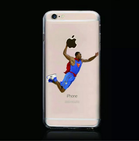 Superman Basketball Dunk Iphone Case