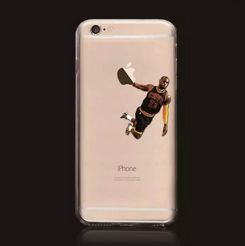 Lebron James Dunking Basketball Case