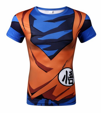 Dragon Ball Z Goku Gear Training Shirt