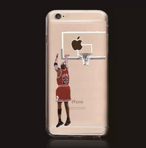Micheal Jordan Inspired Shooting Phone Case