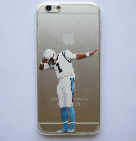 Cam Newton Inspired Dabbing Phone Case
