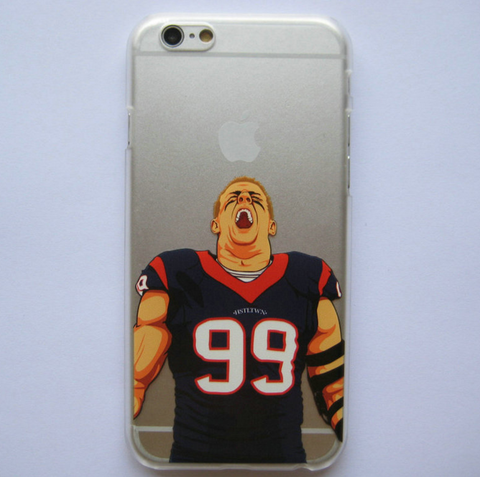 J. J. Watt Inspired TPU Phone Case