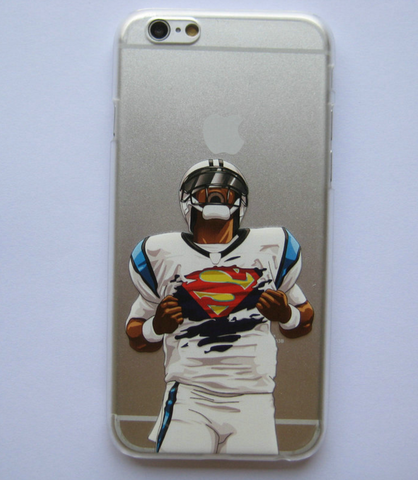 Cam Newton Superman Inspired Phone Case