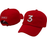 "Chance The Rapper Inspired ""3"" Hats"