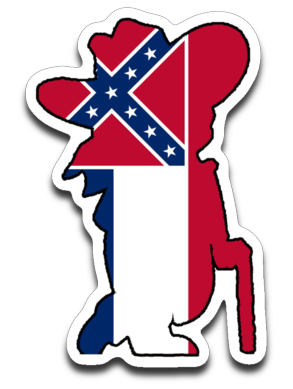 Mississippi Colonel Sticker