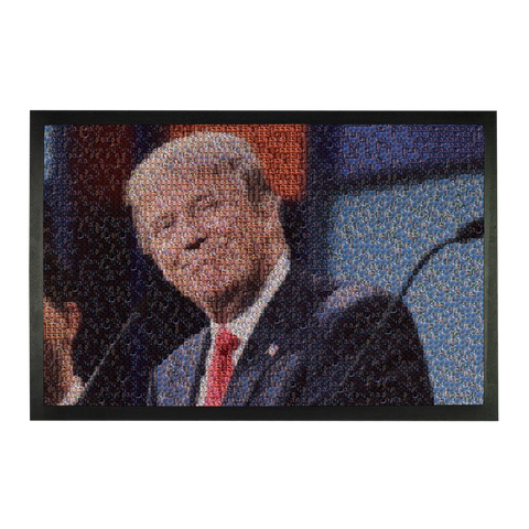 Trump Mosaic of Crying Liberals Sublimation Doormat