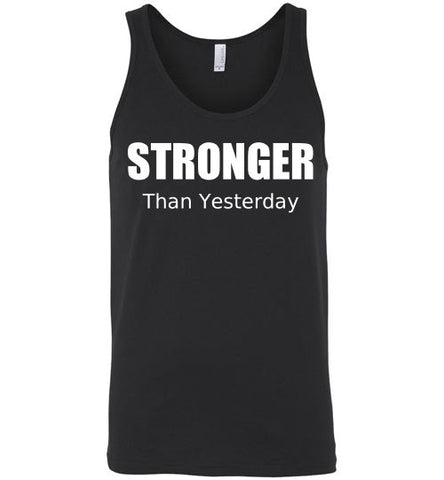 Stronger than Yesterday Workout Tank Top