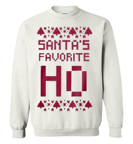 Santa's Little Ho Funny Christmas Sweater