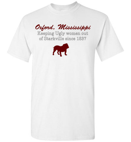 Oxford Mississippi State Rivalry T shirt