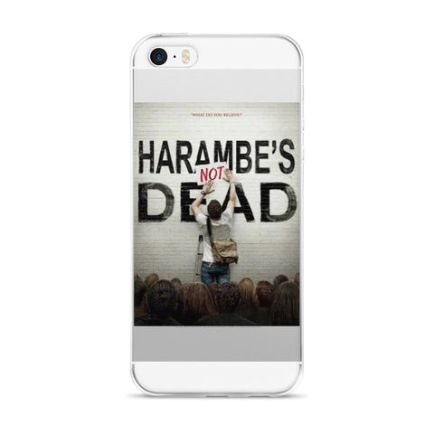 Harambe's Not Dead iPhone case