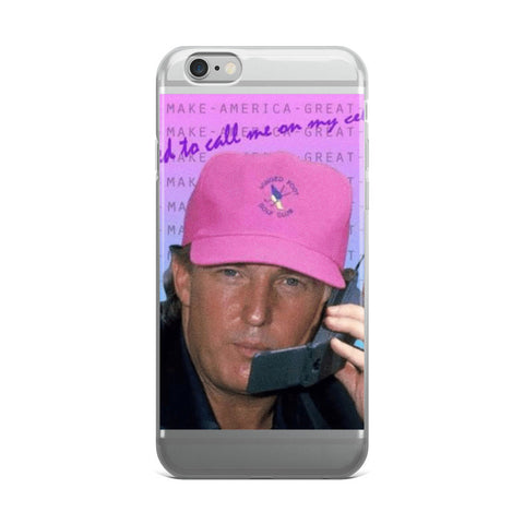 Trump Hotline Bling iPhone 5/5s/Se, 6/6s, 6/6s Plus Case
