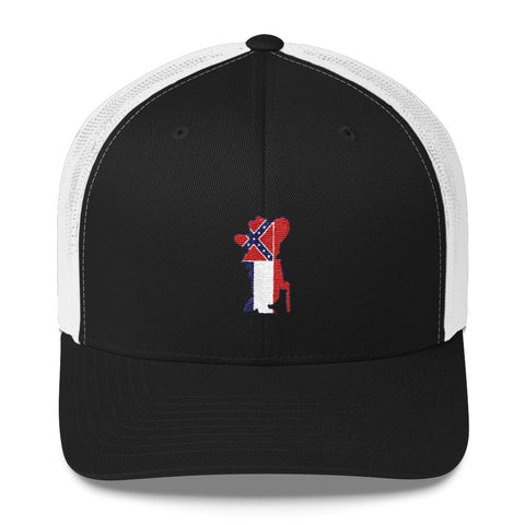 Colonel Reb Inspired Trucker Cap